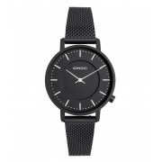 KOMONO Horloges Harlow Mesh Zwart
