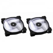 Ventilator 140 mm Corsair SP140 White LED Twin Pack