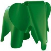 Vitra Eames Elephant woondecoratie small palm green