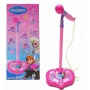 Microfon de jucarie Karaoke cu mufa mp3 Frozen
