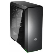 Coolermaster MC600P Black ATX Desktop Chassis With Tempered Glass Window, Rgb Front Lighting