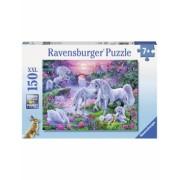 Puzzle Unicorni La Apus, 150 Piese Ravensburger