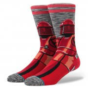 ponožky STAR WARS - RED GUARD GREY - STANCE - M545D17RED-GRY