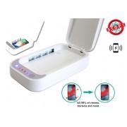 Sterilizačný box XGerm Lite - Aroma sterilizácia za 10 minút s 2x 1W UV + Bezdrôtové nabíjanie 7,5W