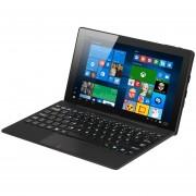 EW 10.1 Pulgadas Quad Core 64 GB HD Tablet PC Para Windows 10 Para Android HI10 5.1 Negro