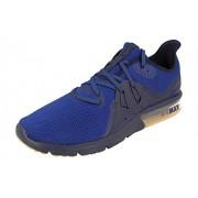 Nike Air MAX Sequent 3_921694-405 Tenis para Correr para Hombre, Obsidian/Deep Royal Blue/Neutral Indigo, 8.5