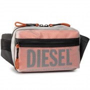 Чанта за кръст DIESEL - X06820 P3196 H8013 Transparent/Red Orange