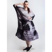 KILLSTAR női ruha- Skull Boho - Black