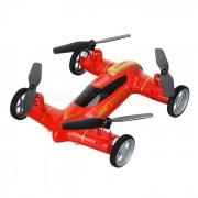 Syma X9A Fly & Drive Control Remoto Quadcopter / coche volador - Rojo