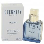 Eternity Aqua by Calvin Klein Eau De Toilette Spray 1 oz