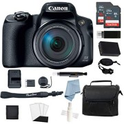 Canon Powershot SX70 HS 4K Video Digital Camera + Advanced Accessory Kit