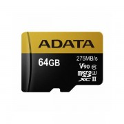 Memorijska kartica Adata SD MICRO 64GB HC Class10 UHS-I U3 AUSDX64GXUI3-RA1