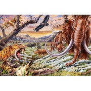 Puzzle Schmidt - Animals of the Ice Age, 150 piese (56251)