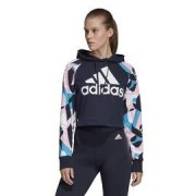 Adidas W sid hood aop DU0231 Modrá XS