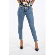 Dsquared2 Jeans JENNIFER CROPPED in Denim Stretch taglia 42