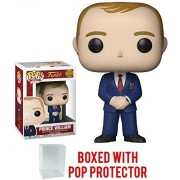 Funko Pop! Royals: The Royal Family - Prince William Vinyl Figure (Bundled with Pop Box Protector Case)