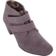 Exotique Women's Grey Casual Boot(EL0031GY)
