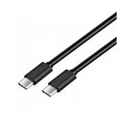 Astrum UT332 1,2m Type-C - Type-C csomagolt adatkábel, USB 2.0, 2A, fekete