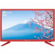 Pantalla LED 24 pulgadas Smart TV HD