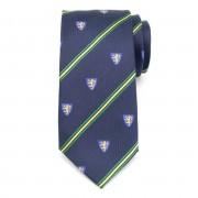 Férfi selyem nyakkendő (minta 326) 6036 -ban kék szín