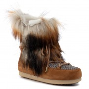 Апрески MOON BOOT - Mb Far Side High Faux Fox Fur 24201200001 Whisky
