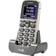 Primo by DORO 215 telefon pro seniory nabíjecí stanice, tlačítko SOS béžová