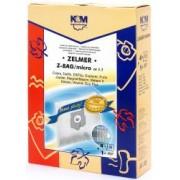 Sac aspirator Zelmer sintetic 4X saci +1 filtru K and M