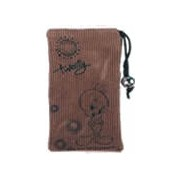 Tweety Cell phone Pouch: LIGHT BROWN