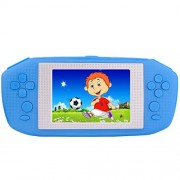 Zhishan Portable Handheld Game Console Gaming Player Birthday for Kids Built in 416 Classic Retro Games with 3.5 LCD Big Screen (Blue)