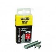 """Кламер стандартен, 6 mm/1/4"""" (1000 бр.), 1-TRA204T, STANLEY"""