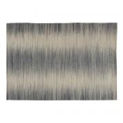 Miliboo Tapis en laine gris 160 x 230 cm IKAT