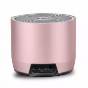 EWA A3 3D Stereo Music Surround Wireless Portable Bluetooth Subwoofer Mini Speaker - Rose Gold