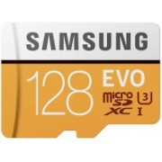 Samsung EVO 128 GB MicroSDXC Class 10 100 MB/s Memory Card(With Adapter)