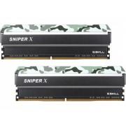 Memorija DIMM DDR4 2x16GB 2400MHz G.Skill Sniper X CL17, F4-2400C17D-32GSXF