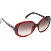 Emilio Pucci Oval Sunglasses(Grey)