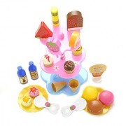 PowerTRC Sweet Treats Ice Cream and Desserts Tower Playset