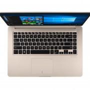Notebook Asus 15.6 I7 7500u 8gb 1t Video Gt940mx Win10 Slim - DORADA