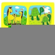 Emob Early Educational Wooden Learning Jigsaw Puzzle Board Game for Kids and Toddler (1 Pieces)