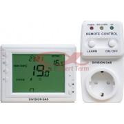 Termostat ambiental programabil wireless (fara fir) seria DGS908-GT