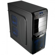 Aerocool Caja Semitorre V3X Advance Black-Blue 30