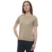 Max Mara T-shirt morbida Luciana Corda Seta Donna