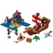 LEGO Minecraft - Avontuur op het piratenschip 21152