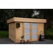 Abri de jardin bois toit plat Odense