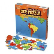 GeoPuzzle Latin America - Educational Geography Jigsaw Puzzle (50 pcs) by GeoToys