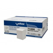 Rezerva hartie igienica intercalata, Celtex 71300, 2 straturi, alba, 250 portii/pachet, 36 pachete/cutie