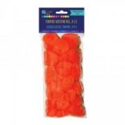 dpCraft Bambule mix oranžovej, 24 ks, (KSPO-021)