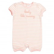 LA REDOUTE COLLECTIONS Gestreifter Baby-Overall, 0-2 Jahre