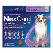 Nexgard Spectra For Large Dogs 33-66 Lbs (Purple) 3 Pack