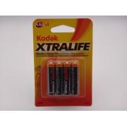Kodak LR03 AAA xtralife baterie alcalina 1,5V MN2400 K3A-4