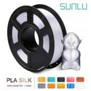 Filament 3D PLA argintiu lucios